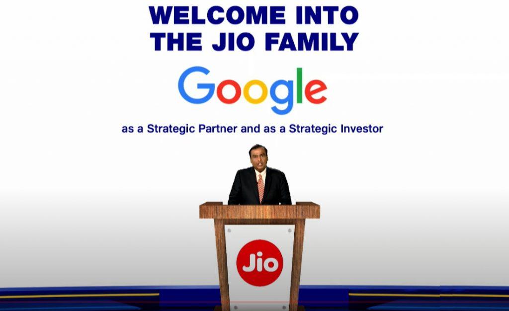 Jio-Google-investment