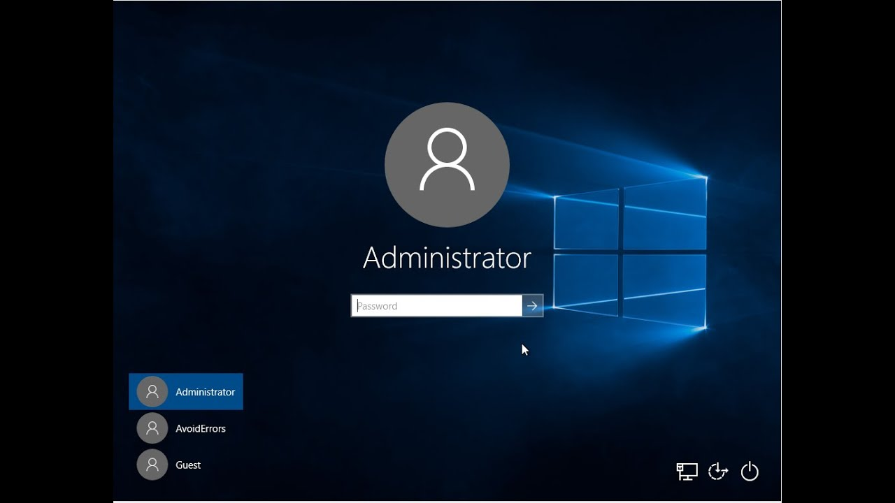 How to enable/disable Administrator Account in Windows 10